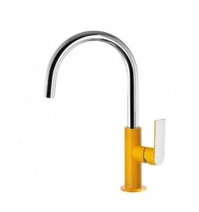20020505AMD-loft-colors-tres-grifo-monomando-lavabo-cano-curvo-ambar-cromo