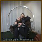 Bubble chair подвесное кресло к потолку производитель Comfort Market, Украина