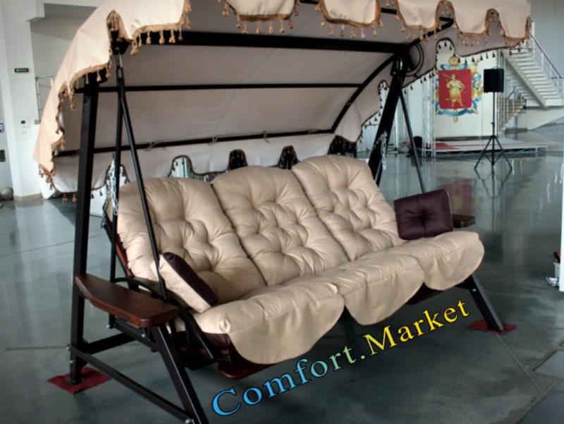 Comfort market - купить садовые качели Tehas Luxe в Украине, Киеве.