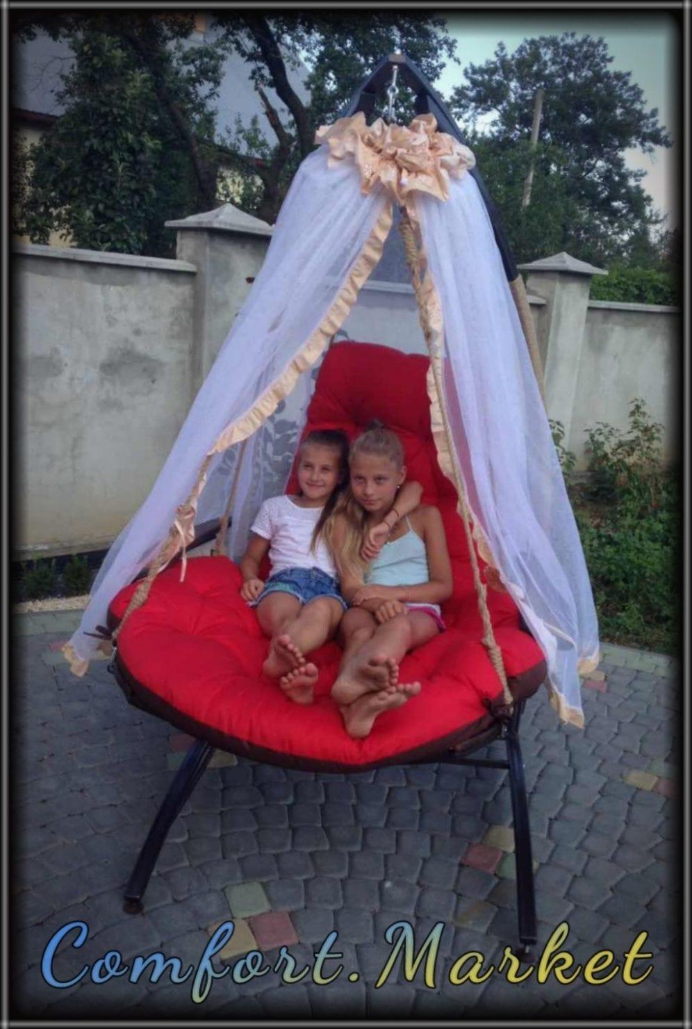 Подвесное раскладывающееся кресло кровать Ego - мебель Comfort Market
