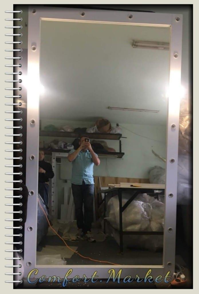 Зеркало с подсветкой 190*90 см купить в Украине по цене производителя Comfort Market
